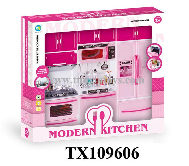 Shantou tuoxin toys co ltd about environment products for Kitchen set environment
